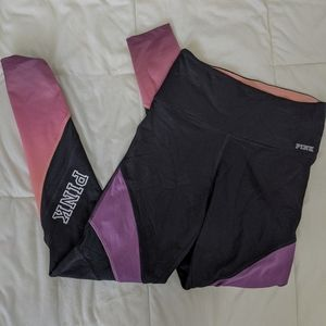 PINK Victoria's Secret Pants & Jumpsuits - PINK mesh athletic full length leggings